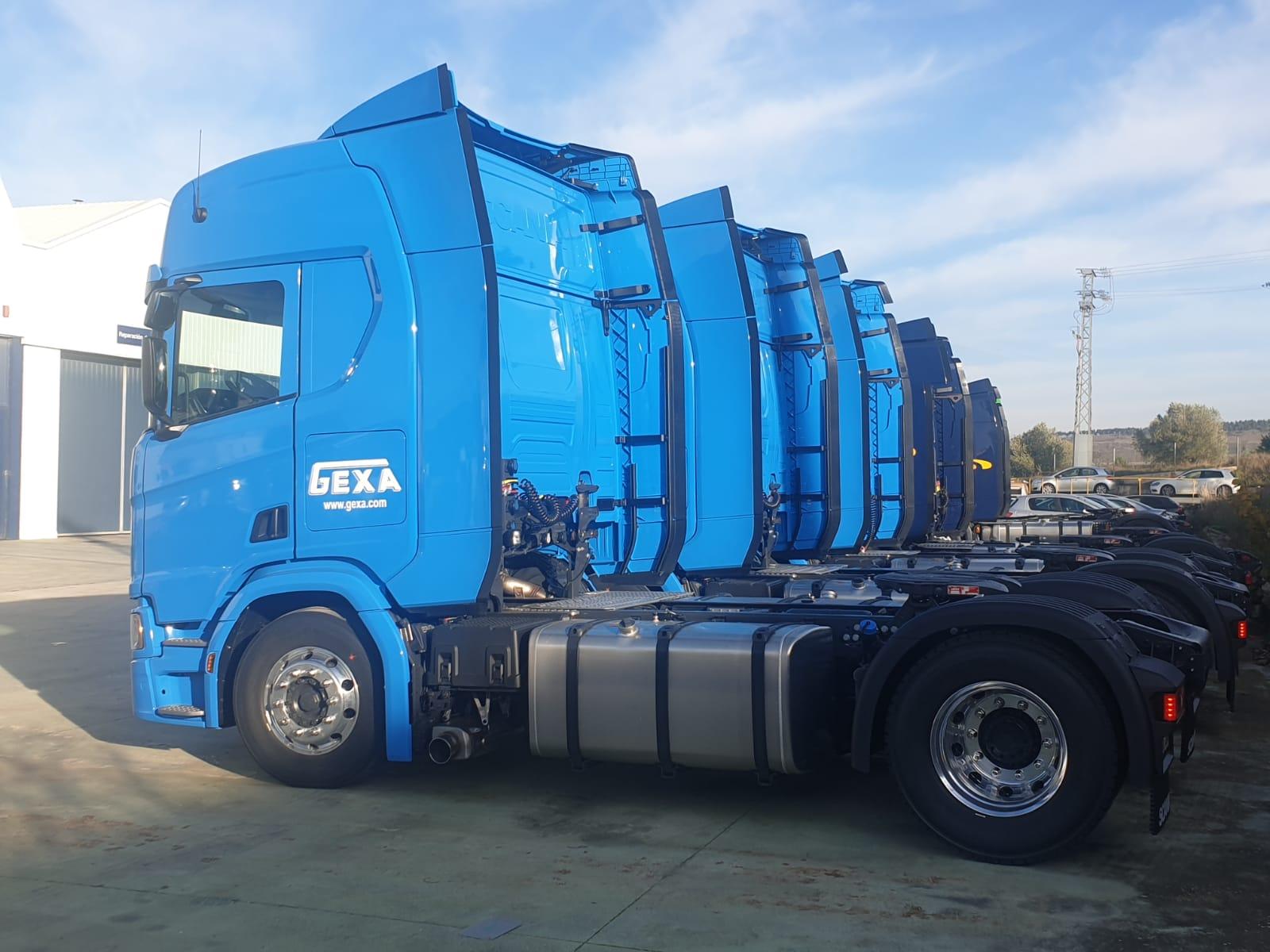 Gexak bere flotari Scania Serie R 450 CV kamioak gehitu dizkio