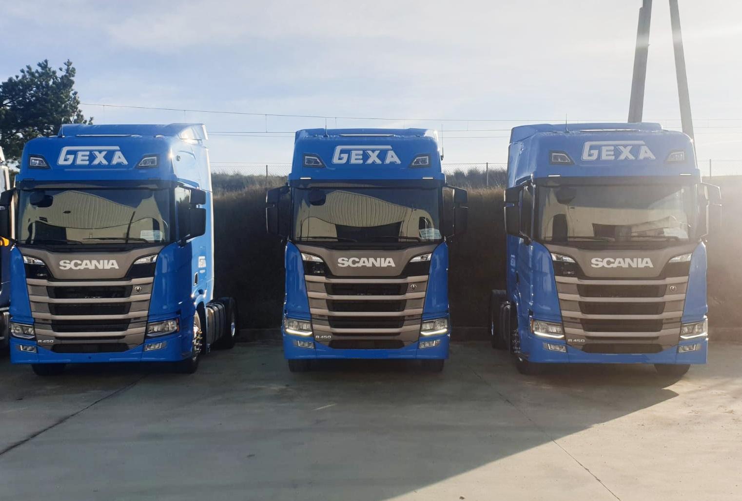 Camiones Gexa